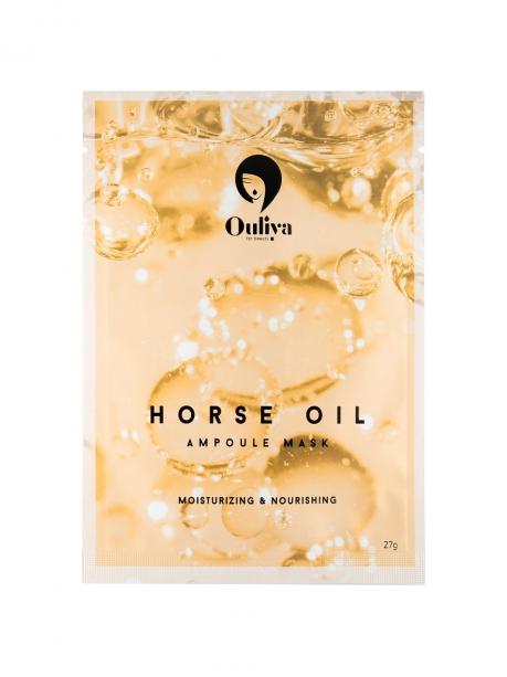 Маска для лица с лошадиным маслом